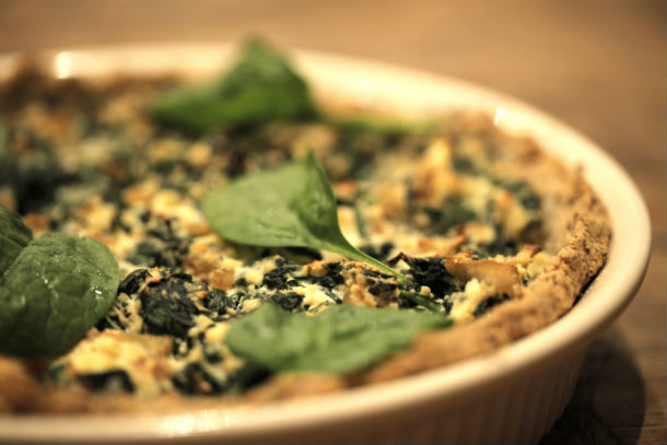 spinach pie google