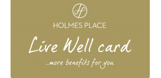 HOLMES PLACE LIVE WELL CARD