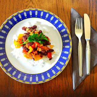 Vegetarian Chilli, a summer recipe